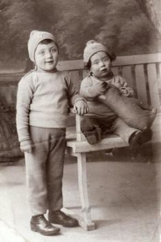 Isaac Troeder (standing) Isaac was sadly murdered in Auschwitz on September 10, 1942 at age 9. He was from Amsterdam, Netherlands.