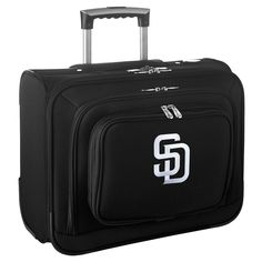 MLB San Diego Padres Wheeled Laptop Overnighter