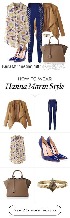 """""""Hanna Marin inspired outfit/PLL"""" by tvdsarahmichele on Polyvore"""