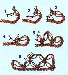 Solomon knot ~ Lovers' knot #crochet- I want to try this ☼Teresa Restegui http://www.pinterest.com/teretegui/☼