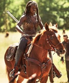 THE WALKING DEAD SEASON 4, Michonne
