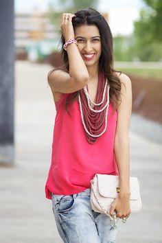 Sissy à la mode: The scarf necklace
