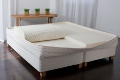 A Savvy Rest natural latex mattress is made with two, three, or four layers of Soft, Medium or Firm natural latex.