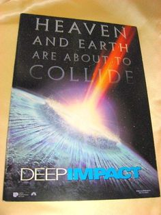 Movie Program Japan- DEEP IMPACT /1998/ ROBERT DUVALL, TEA LEONI, ELIJAH WOOD