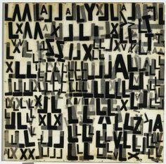 Mira SCHENDEL (1919-1988) : Título: Objeto gráfico  Técnica: Oleo sobre papel de arroz   Año: 1967/68    Video [i]León Ferrari y Mira Schendel[/i] presentan [i]El alfabeto enfurecido[/i] en el MNCARS de Madrid: http://www.youtube.com/watch?v=uxx5rRjdIbU    [b]Catálogo de Arte TV[/b]: http://www.youtube.com/catalogodearte   [b]Marcelo GUTMAN[/b]: http://marcelogutman.blogspot.com   catalogodearte