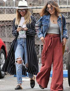 giacche di jeans ricamati