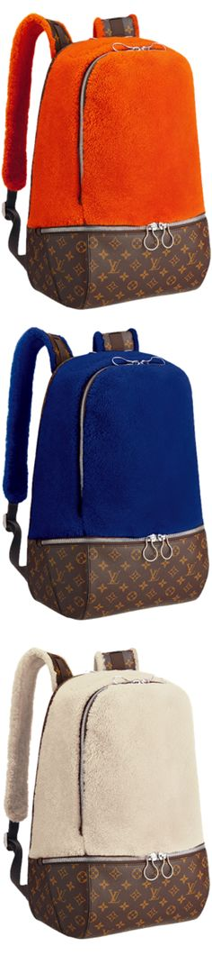 LOOKandLOVEwithLOLO~ Louis Vuitton Icon and Iconoclasts Collection. Louis Vuitton Fleece Pack