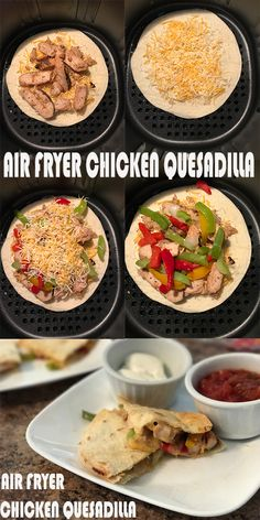 Air Fryer Chicken Quesadilla - All About Healthy Food Recipes - All About Health . - Air Fryer Chicken Quesadilla – All About Healthy Food Recipes – All About Health - Air Fryer Recipes Wings, Air Fryer Recipes Appetizers, Air Fryer Recipes Vegetables, Air Fryer Recipes Snacks, Air Fryer Recipes Vegetarian, Air Fryer Recipes Low Carb, Air Fryer Recipes Breakfast, Air Frier Recipes, Air Fryer Dinner Recipes