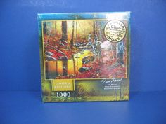 """2007 Jim Hensel """"CLOSE ENCOUNTER"""" 1000 PC LIMITED EDITION JIGSAW PUZZLE  NEW #MEGABrands"""
