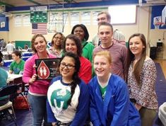 High Five to Chaminade-Julienne High School Red Cord Honor School for 2014-2015! Pictured are members of student council, sponsors of the C-J school blood drive. Angela Ruffolo is the advisor.
