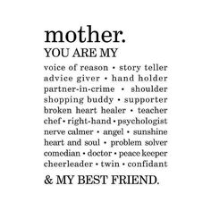 My Everything #mother