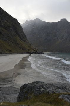 nuhstalgicsoul:  n-c-x:  beterdanbrood:  Nordvika beach, the Lofoten Islands  nature blog  nature