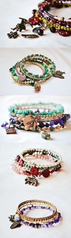 Natural stone healing bracelets are now available on Etsy with WORLDWIDE FREE SHIPPING. Visit: https://www.etsy.com/shop/Mandalafairy?ref=si_shop