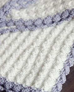 Vintage Chic Crochet Baby Blanket   AllFreeCrochetAfghanPatterns.com