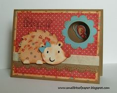 Small Bits of Paper: CAC butterfly & hedgehog