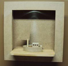Luartebaby Artesanato: Nicho quarto bebe com led para decoração de quarto...