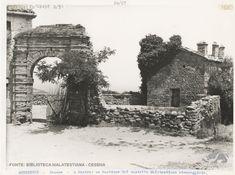 Montenovo, Cesena, resti del castello nel 1926 #castle #fortress #oldphotos