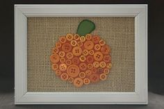 Cute way to use up all those old miscellaneous and odd-colored buttons