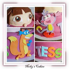 Dora taart #Dora #taart #cake