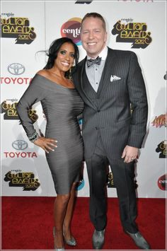 """Comedian Gary Owen and wife, Kenya Duke at the 2012 Soul Train Awards"" Mixed Couples, Couples In Love, My Black Is Beautiful, Beautiful Family, White Boys Black Girls, Gary Owen, Soul Train Awards, Interacial Couples, Couple"