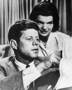 Husband And WifeA photo dated in the 1950s shows John F. Kennedy with his wife Jacqueline Bouvier Kennedy. (AFP/AFP/Getty Images