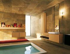 Hallenbad Wellness Modernes Badezimmer Design