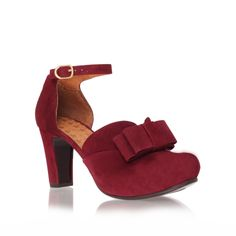 gubia, red shoe by chie mihara - women
