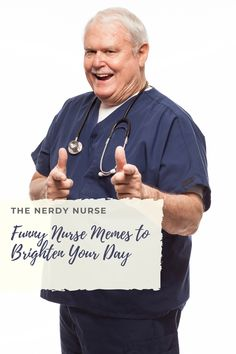 Funny Nurse Memes to Brighten your Day. Being a nurse is so very hard. How do you cope? No matter where you are in your nursing career, these funny nurse memes are just for you. #thenerdynurse #nurse #nurses #nursememes #nursehumor #memes #funny #humor Nursing School Humor, Nursing Profession, Nursing Career, Nursing Memes, Medical Humor, Nurse Humor, Rn Nurse, You Funny, Funny Humor