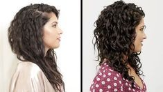 I've watched so many tutorials this is one of the best ones I've seen. Women With Curly Hair Perfect Their Curls - YouTube