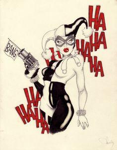 Harley Quinn by original nick