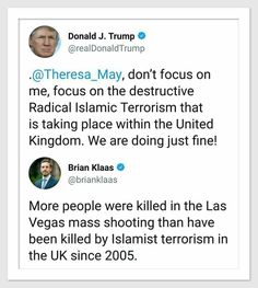 More people were killed in the Las Vegas mass shooting than by Islamist terrorism in the U.K. since 2005.