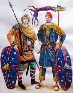 AMELIANVS (DeviantArt) - Draconario y legionario romano, siglo VI DC