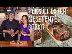 Péksuli EXTRA: Szabi, a pék és Szekeres Adrienn puha, foszlós babkája Youtube, Youtubers, Youtube Movies