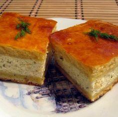 Túrós-kapros pite Recept képpel - Mindmegette.hu - Receptek Cornbread, Ethnic Recipes, Food, Millet Bread, Essen, Meals, Yemek, Corn Bread, Eten