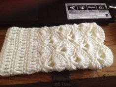 Finished these wrist warmers last night after 5 attempts at reading/understanding the pattern.  (AT)