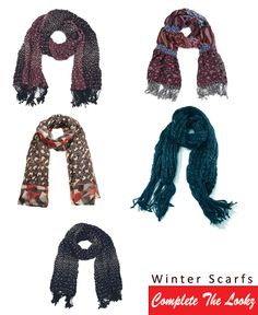 Lots of #Fashion Scarfs/#Animal Design Scarfs Available in stock >> http://www.completethelookz.co.uk/fashion-accessories/scarfs