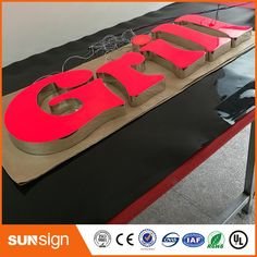 Aliexpress business sign letters outdoor illuminated led signs Electronic Signs, Sign Letters, Led Signs, Business Signs, Outdoor, Outdoors, Outdoor Games, The Great Outdoors