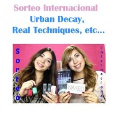 SORTEO INTERNACIONAL Urban Decay, Real Techniques, etc... ^_^ http://www.pintalabios.info/es/sorteos-de-youtube/view/es/104 #Internacional #Sorteo #Maquillaje
