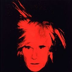 Andy Warhol Paintings of Himself | Self-Portrait by Andy Warhol, 1986. Acrylic and silkscreen ink on ...