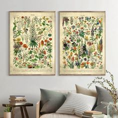 Vintage Flower Print Antique Floral Posters and Prints Wall Picture Botanical Farmhouse Wall Art Canvas Painting Home Art Decor Posters Vintage, Vintage Wall Art, Vintage Walls, Floral Posters, French Posters, Home Decor Paintings, Art Decor, Decoration, Canvas Art Prints