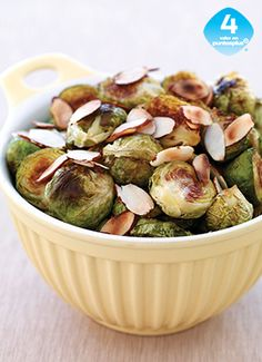 Best weight watchers vegetarian recipes with points brussels sprouts 26 ideas Almond Recipes, Ww Recipes, Light Recipes, Whole Food Recipes, Vegetarian Recipes, Cooking Recipes, Healthy Recipes, Recipies, Weight Watchers Vegetarian