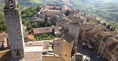 Torre Grossa em San Gimignano #viajar #viagem #itália #italy