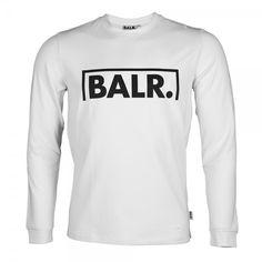 Long Sleeved Shirt Goal White - BALR.