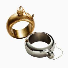 Wish List: Cynthia Rowley Flask Bracelet - The Cut