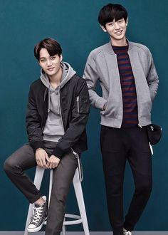 EXO - Kai and Chanyeol