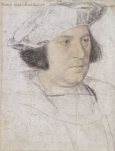 Sir Henry Guildford by Hans Holbein the Younger - List of portrait drawings by Hans Holbein the Younger - Wikipedia Trois Crayons, Portrait Sketches, Portrait Art, Tudor History, Art History, Hans Holbein Le Jeune, Hans Holbein The Younger, Renaissance Portraits, Renaissance Artists
