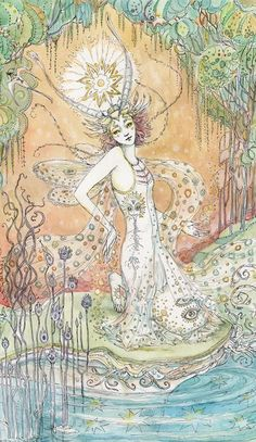 """Paulina Cassidy. """"The Star"""" from a Taro deck."""