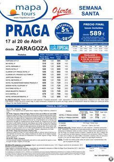 Praga Semana Santa salida Zaragoza 17 Abril *Precio Final desde 589** ultimo minuto - http://zocotours.com/praga-semana-santa-salida-zaragoza-17-abril-precio-final-desde-589-ultimo-minuto/