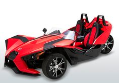 Corbin went one to design and create a new platform for the existing seat frame and slider inside the Polaris Slingshot.