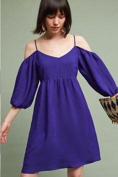 bae3ba05c2c3 NWT - Anthropologie Carina Open-Shoulder Dress